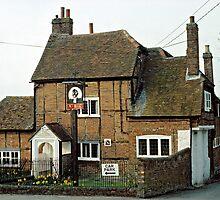 Chiltern's Pub, UK, 1970's by David A. L. Davies