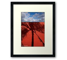Red Brick Walls Are Still OK Framed Print