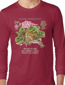 Natterjack Toad - Bufo calamita Long Sleeve T-Shirt