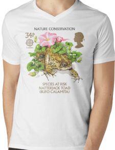 Natterjack Toad - Bufo calamita Mens V-Neck T-Shirt