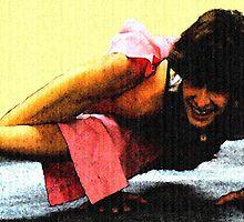 #602  Yoga Pose #2 by MyInnereyeMike