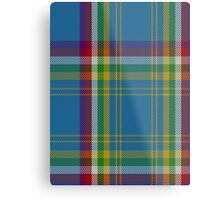 00121 Yukon District Tartan  Metal Print