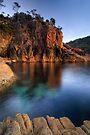 Sleepy Bay, Freycinet National Park, Tasmania by Michael Treloar