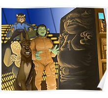 The Ogre Strikes Back Poster