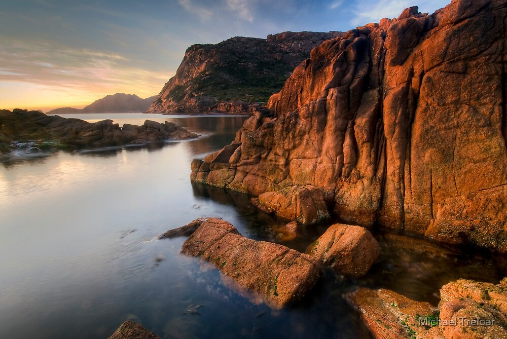 Sleepy Bay, Tasmania, Sunrise by Michael Treloar