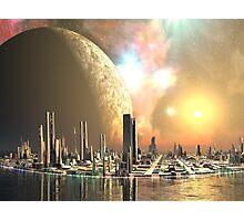 Utopia Islands - Cities of the Future Photographic Print