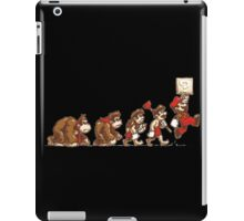 Donkey Kong To Mario Evolution iPad Case/Skin