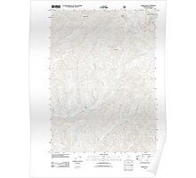 USGS Topo Map Oregon White Rock 20110811 TM Poster