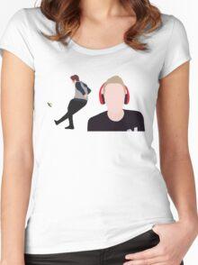 Simon Minter - Miniminter Women's Fitted Scoop T-Shirt