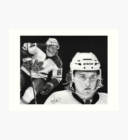 Mikhail Grabovski (Toronto Maple Leafs) Art Print