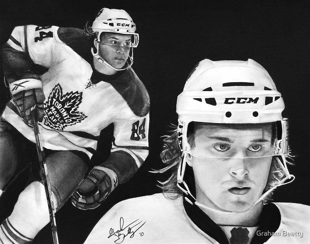 Mikhail Grabovski (Toronto Maple Leafs) by Graham Beatty