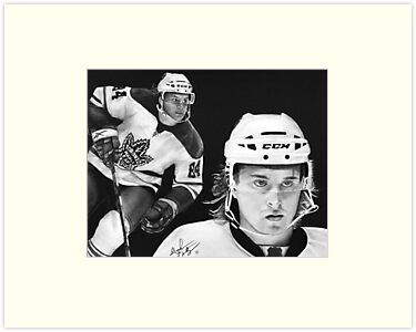 Mikhail Grabovski (Toronto Maple Leafs) by Graham Beatty