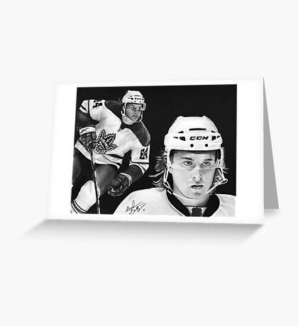 Mikhail Grabovski (Toronto Maple Leafs) Greeting Card