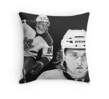 Mikhail Grabovski (Toronto Maple Leafs) Throw Pillow