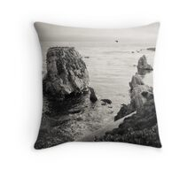 Shell Beach, CA Throw Pillow