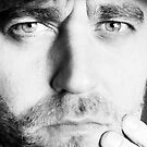 Henrik Malmborg Self Portrait - Look deep into my Eyes! by Henrik Malmborg