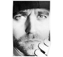 Henrik Malmborg Self Portrait - Look deep into my Eyes! Poster
