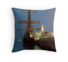 Dusk, Cunningham Pier Throw Pillow