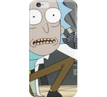 Rick ''I am mr bulldops'' iPhone Case/Skin