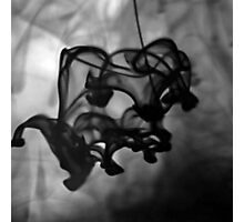 Inky Photographic Print