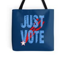 Just Vote Patriotic Voting Design Tote Bag