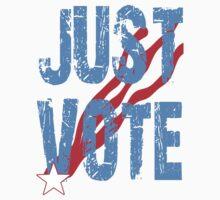 Just Vote Patriotic Voting Design Kids Clothes