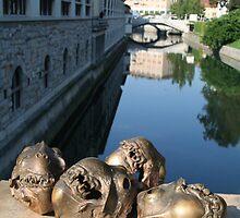 Ljubljana, Slovenia by Jan (John) Dalmajer