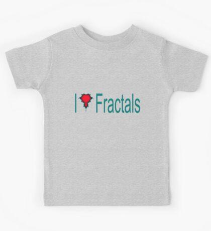 I Heart Fractals Kids Tee
