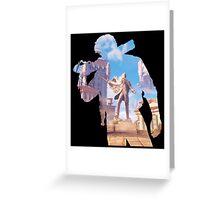 Bioshock - Booker DeWitt Greeting Card