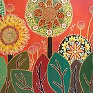 Klimt's garden 2 by Marilia Martin