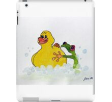 Frog and Rubber Ducky iPad Case/Skin