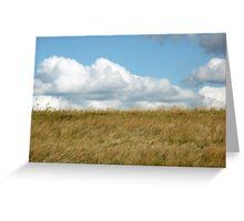 Prairie Land Greeting Card