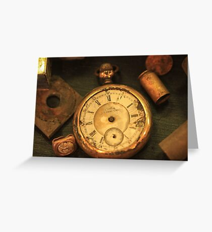 The Watch Greeting Card