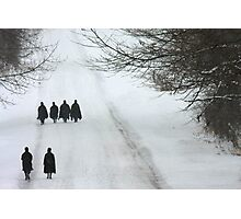 """"""" Two Four the Road, and now the women """" Photographic Print"""
