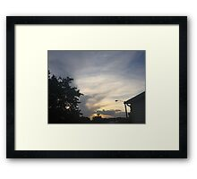 Sunset 17 Framed Print