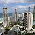 Surfers Paradise from Suncity Rooftop by aussiebushstick