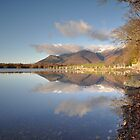 Skiddaw Reflections On Derwentwater by Jacqueline Wilkinson