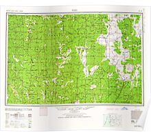USGS Topo Map California Weed 302182 1948 250000 Poster