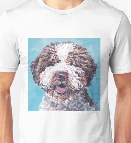 Lagotto Romagnolo Fine Art Painting Unisex T-Shirt