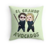 Tiny MattFoggy 01 Throw Pillow