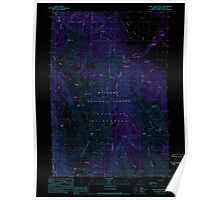 USGS Topo Map Oregon Chief Joseph Mtn 279334 1990 24000 Inverted Poster