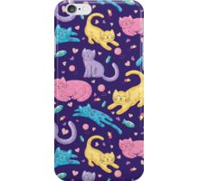 Playful Kittens Pattern iPhone Case/Skin