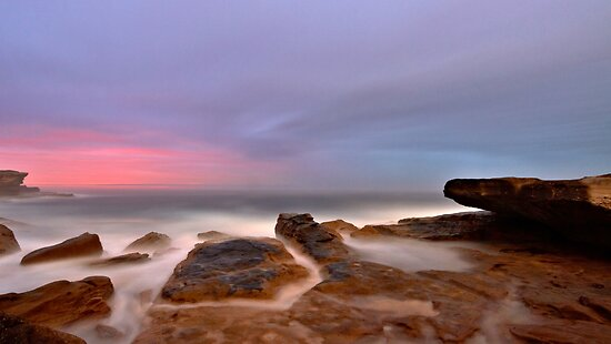 Misty Morn by Mark  Lucey