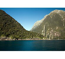 Milford Sound in New Zealand's Fiordland National Park Photographic Print