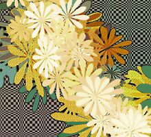 Yellow Flowers by Brenda Cheason