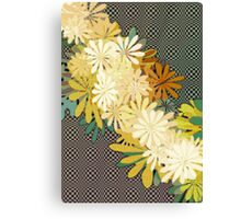 Yellow Flowers Canvas Print