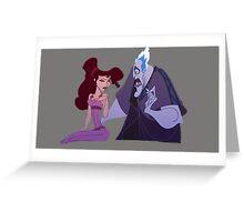 Meg and Hades Sass Greeting Card