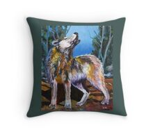 Howling for You Throw Pillow