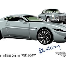 James Bond Aston Martin DB10 from Spectre by car2oonz