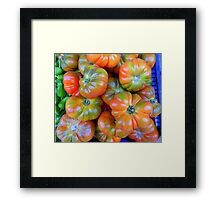 Tomatoes From Majorca Framed Print